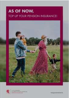 As of now, top up your pension insurance!